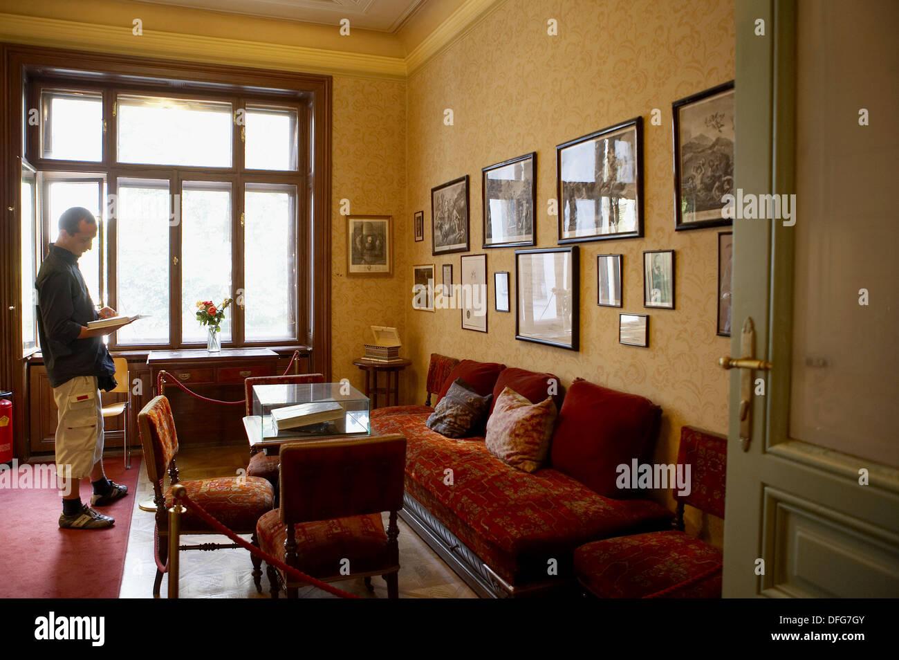 Sigmund Freud Museum, Vienna,  Austria - Stock Image