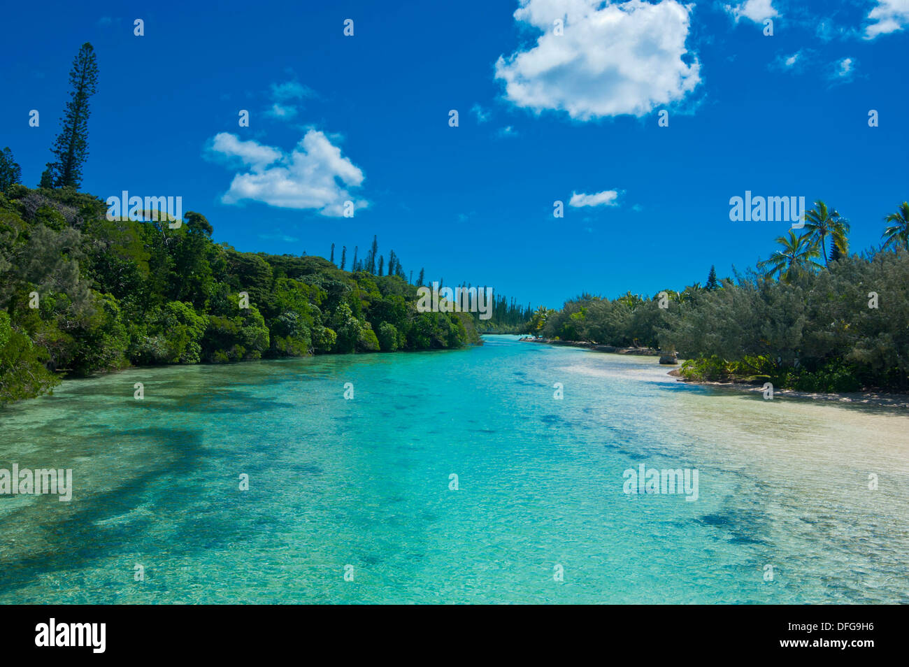 Bay de Oro, Île des Pins, New Caledonia, France - Stock Image