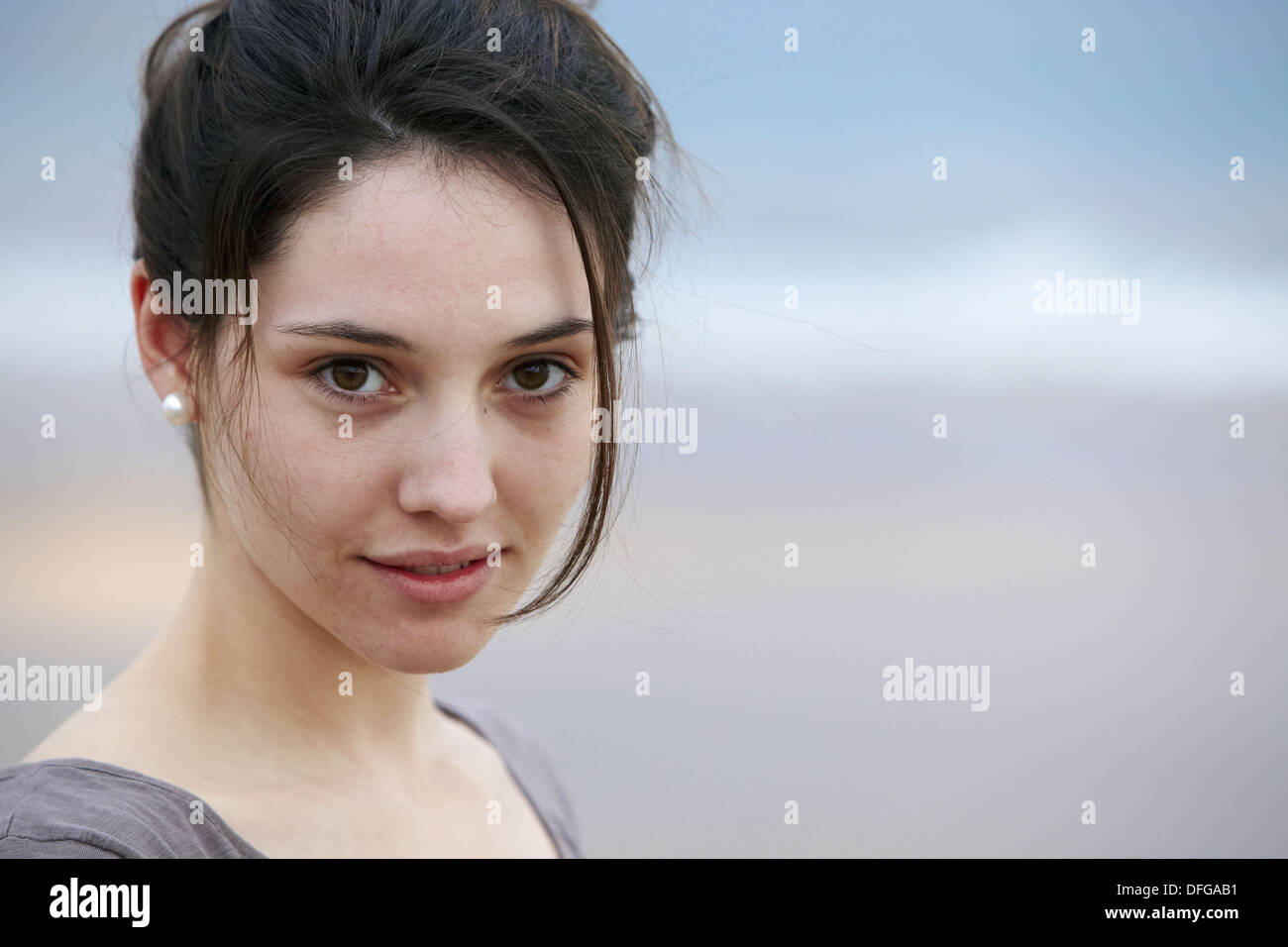 20 year old girl - Stock Image