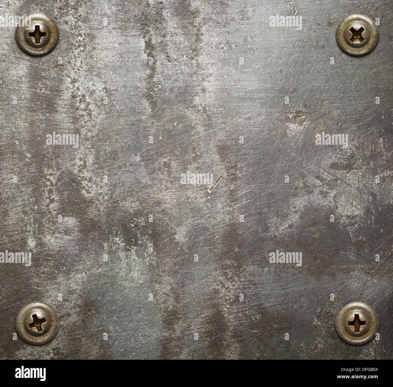 Large Size Aged Metal Texture Old Iron Background Stock