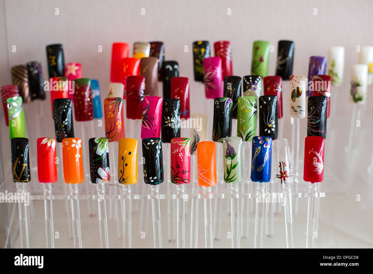 Nail Art Bar Stock Photos Nail Art Bar Stock Images Alamy