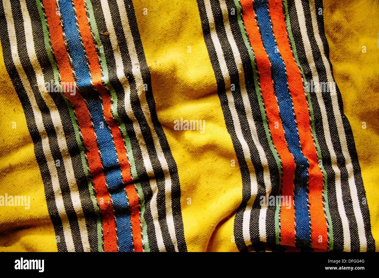 Handicrafts: Berber carpet, Morocco - Stock Image