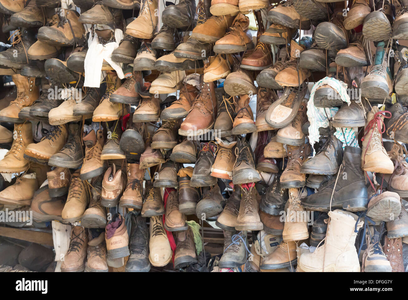 dbd2217565b Shoes and boots, mainly second hand, for sale in Maramba Market ...
