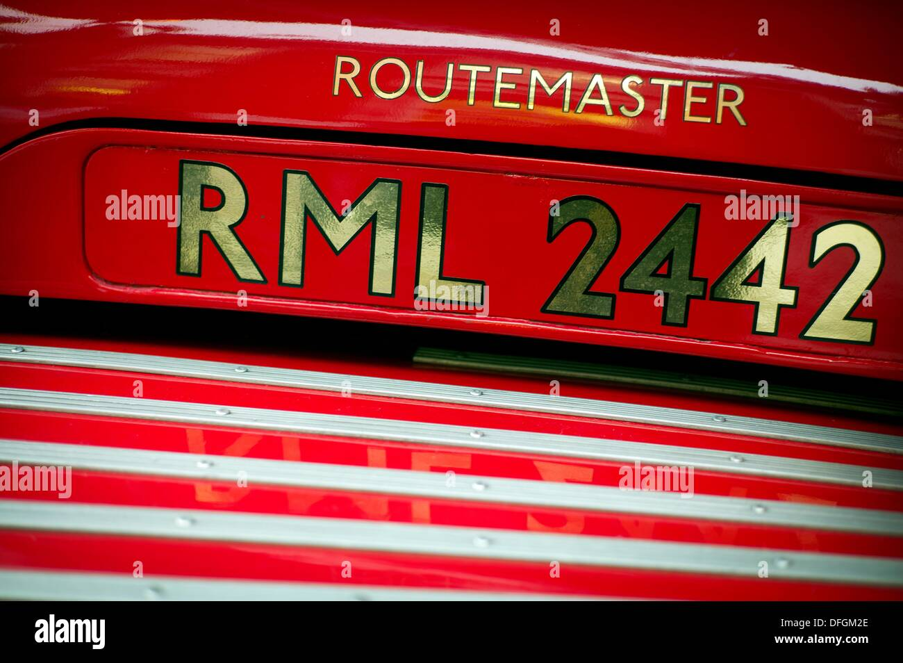 Old Bus, Routemaster, number plate, registration, RML 2442, London ...