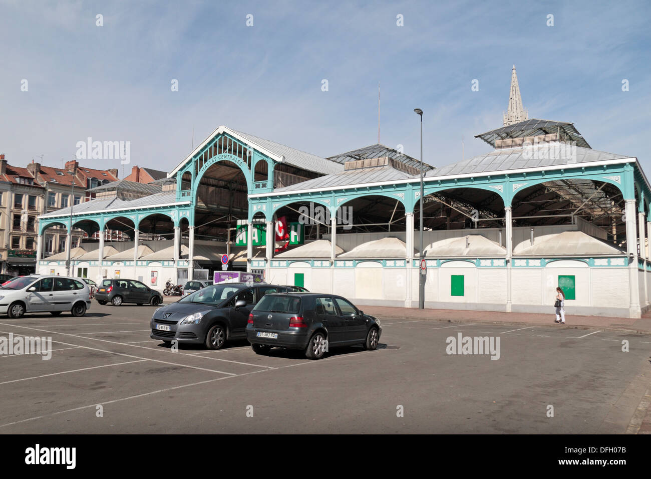 The Match Supermarket on rue Solférino housed in an old covered ...