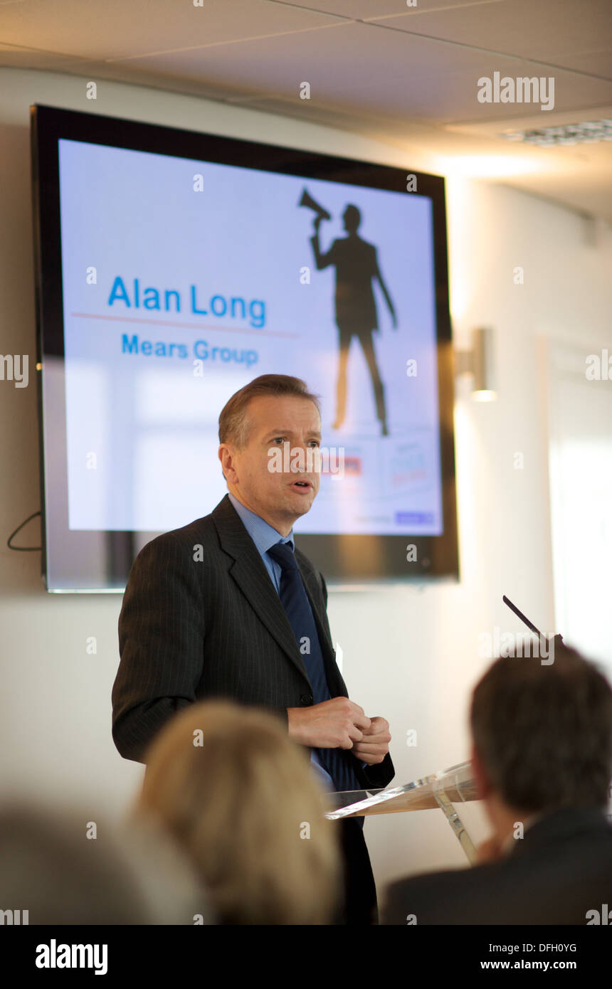 Alan Long of Mears Group - Stock Image