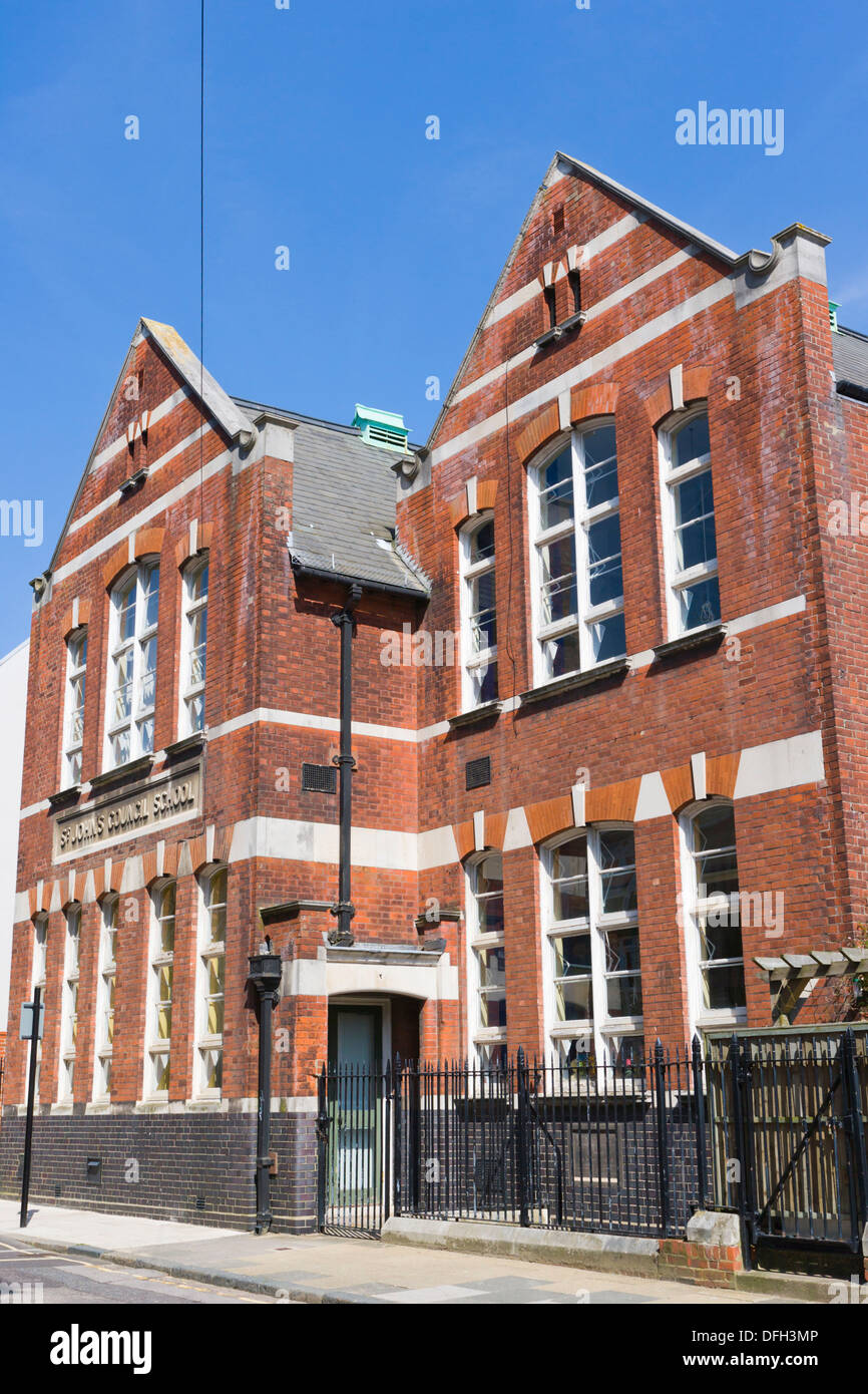 St John Council School, St  John´s Primary and Nursery School, French Street, Old Town, Southampton, Hampshire, England, UK. - Stock Image