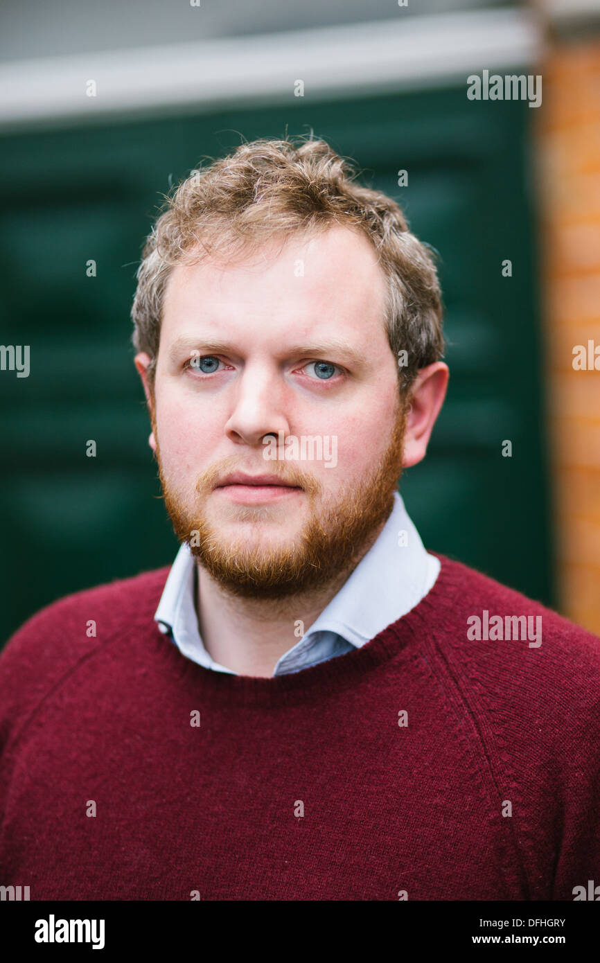 Miles Jupp is an English comedian and actor - Stock Image