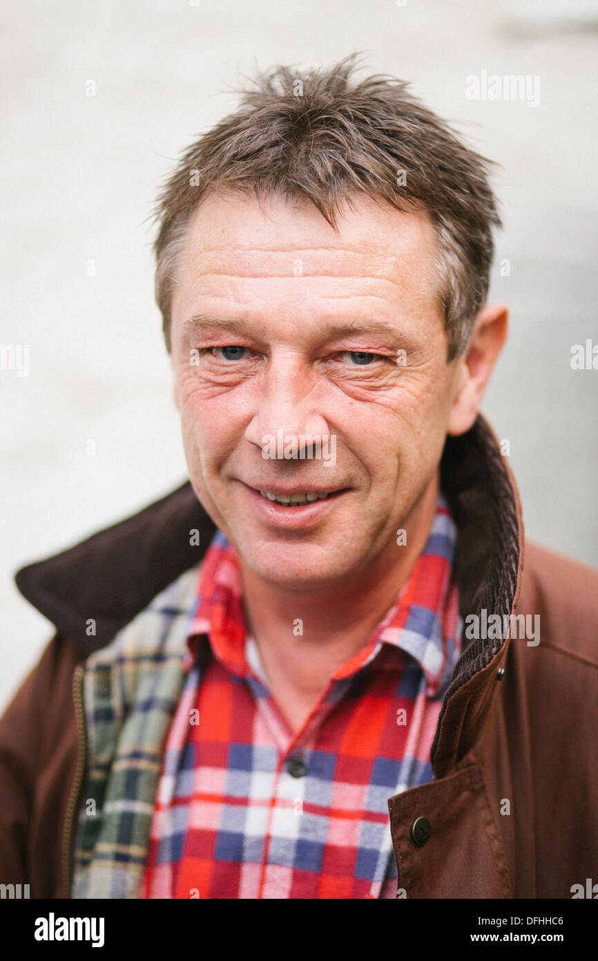 Andy Kershaw is a British broadcaster - Stock Image