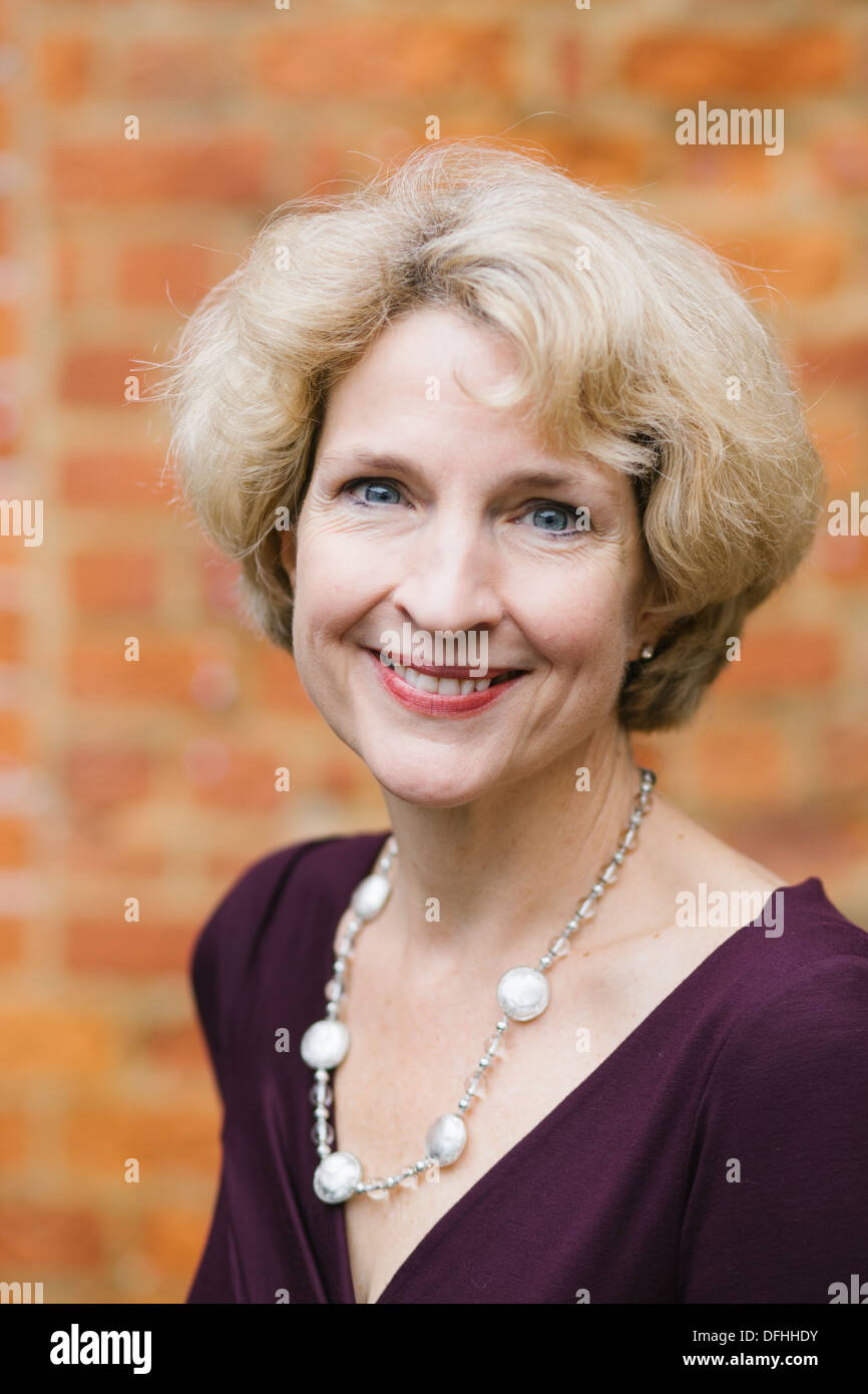 Jane Thynne is a British novelist, journalist and broadcaster - Stock Image