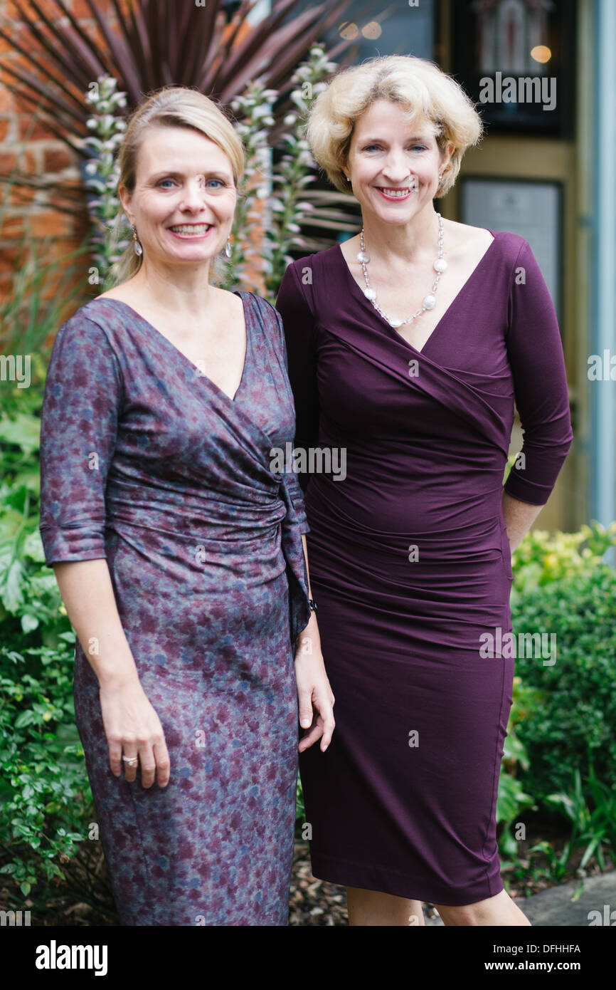 Meike Ziervogel & Jane Thynne, writers - Stock Image