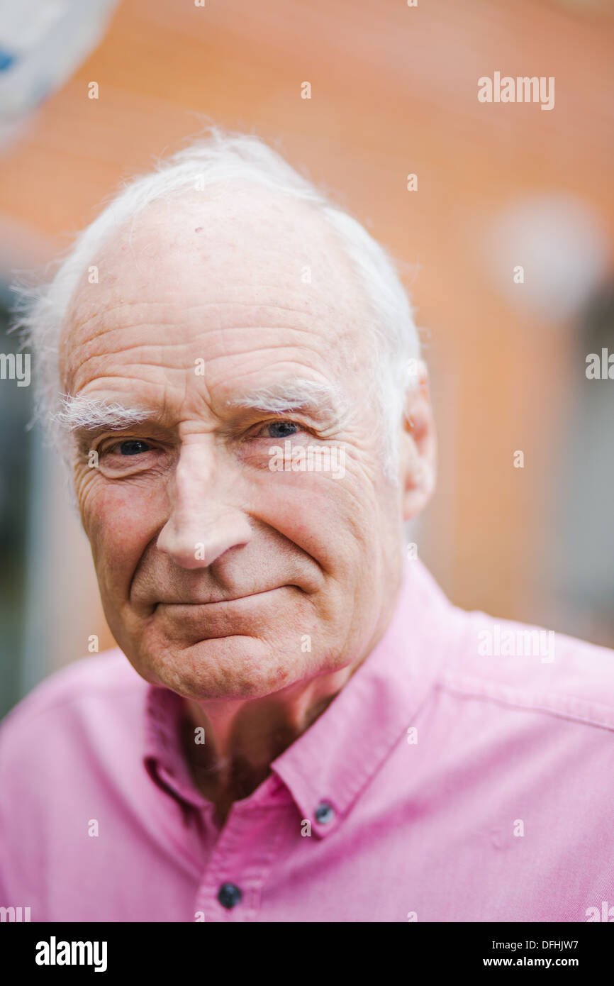 Peter Snow, CBE is a British television and radio presenter. - Stock Image