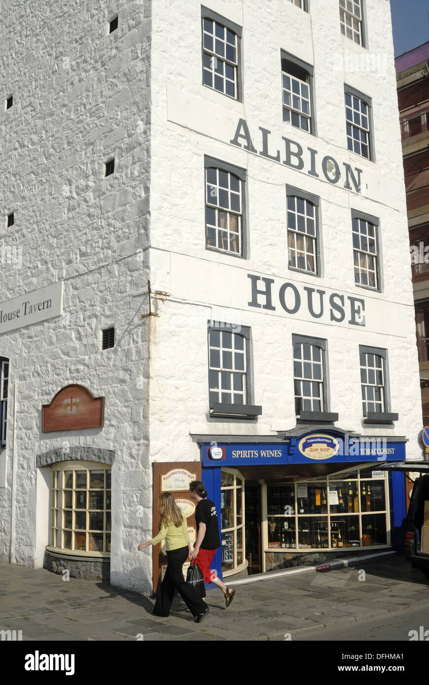 Albion House Tavern, Saint Peter Port, Island Of Guernsey, Bailiwick Of  Guernsey, British Crown Dependency, English Channel,
