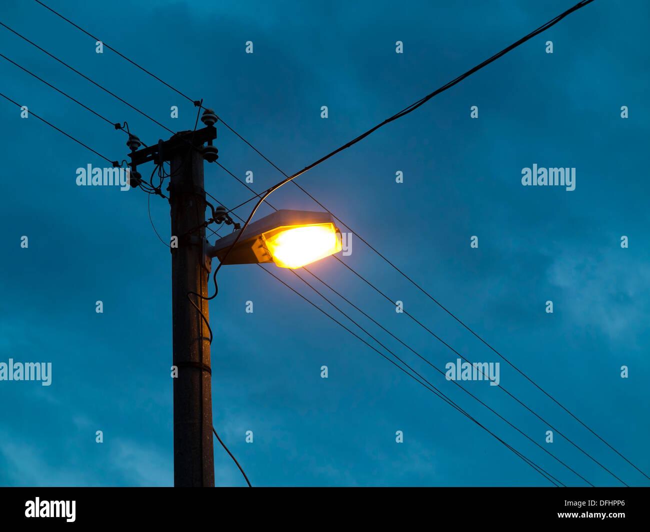 Awe Inspiring Wiring Wire Street Light Stock Photos Wiring Wire Street Light Wiring Digital Resources Instshebarightsorg