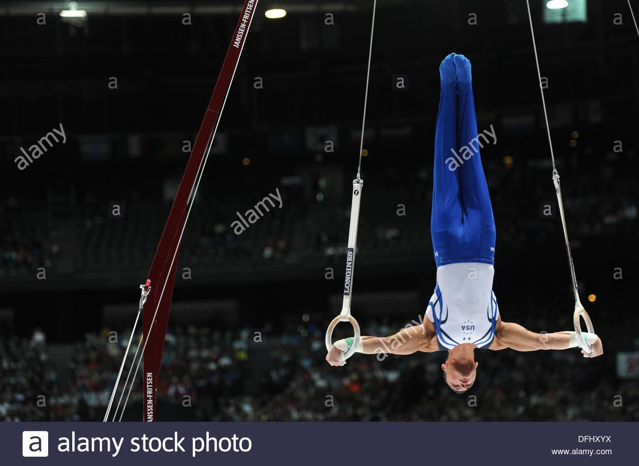 Antwerp, Belgium. 5th  Oct, 2013. World Championships Gymnastics 2013 Antwerp Belgium   Individual finals Brandon - Stock Image