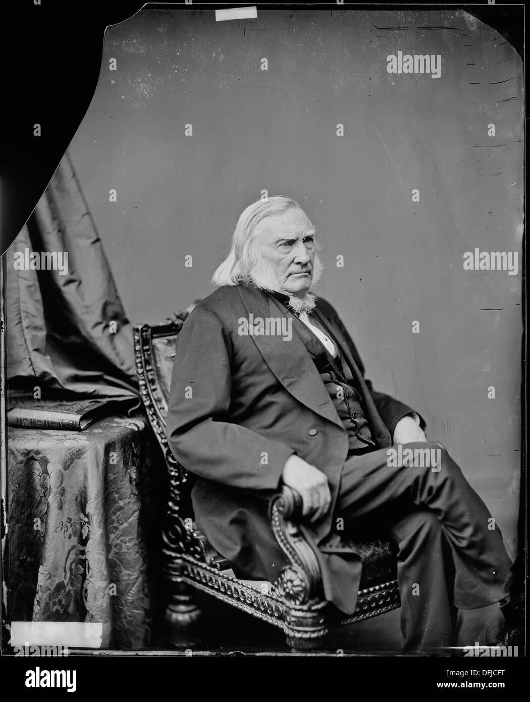 Judge Samuel Nelson, U.S. Supreme Court 528667 - Stock Image