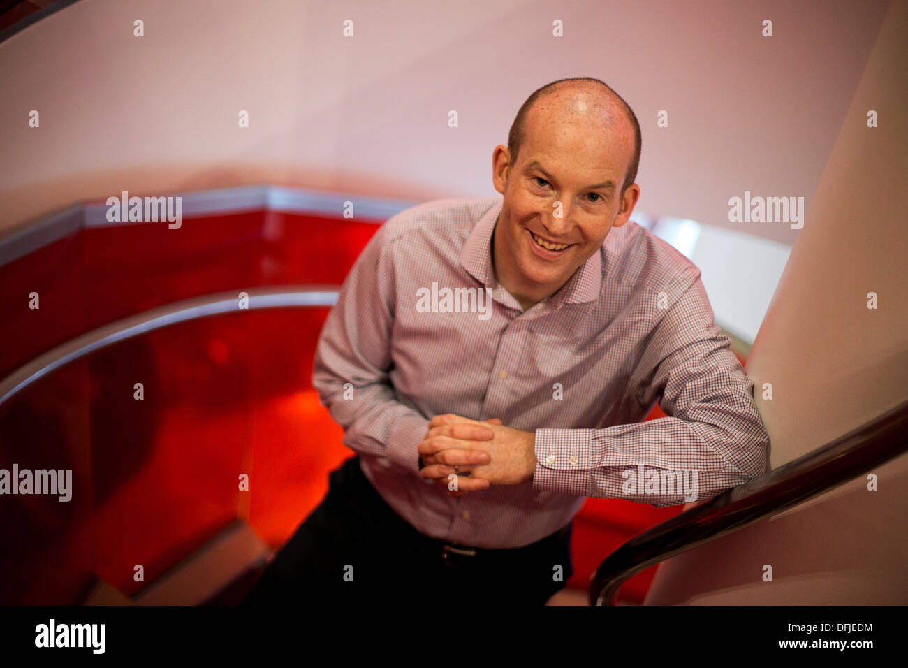 Joe Thompson , Director of Short Haul and Joint Venture Performance with Virgin Atlantic - Stock Image