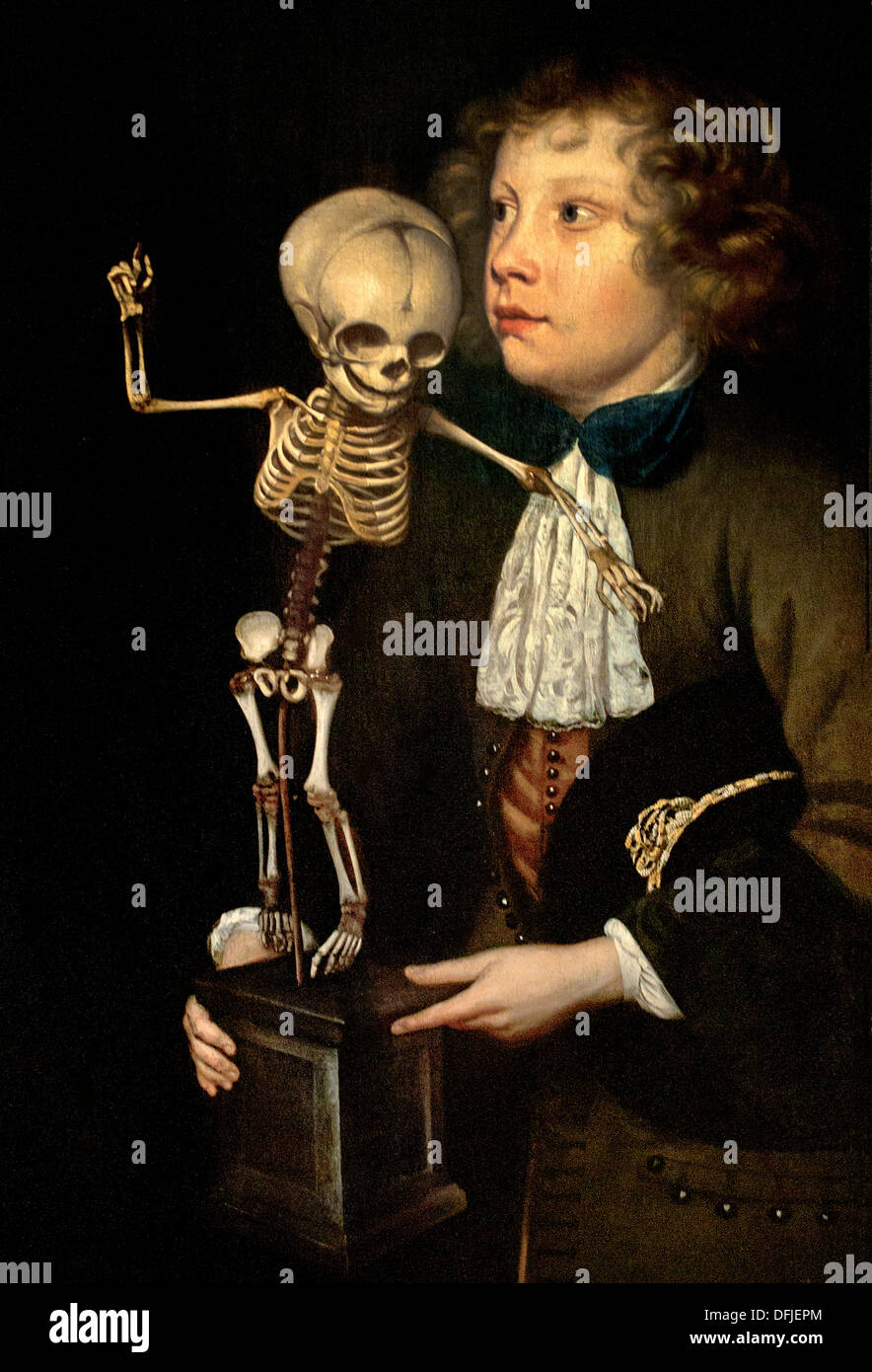 The Anatomy lesson of dr Frederik Ruysch 1683 Jan van Neck Painting ...