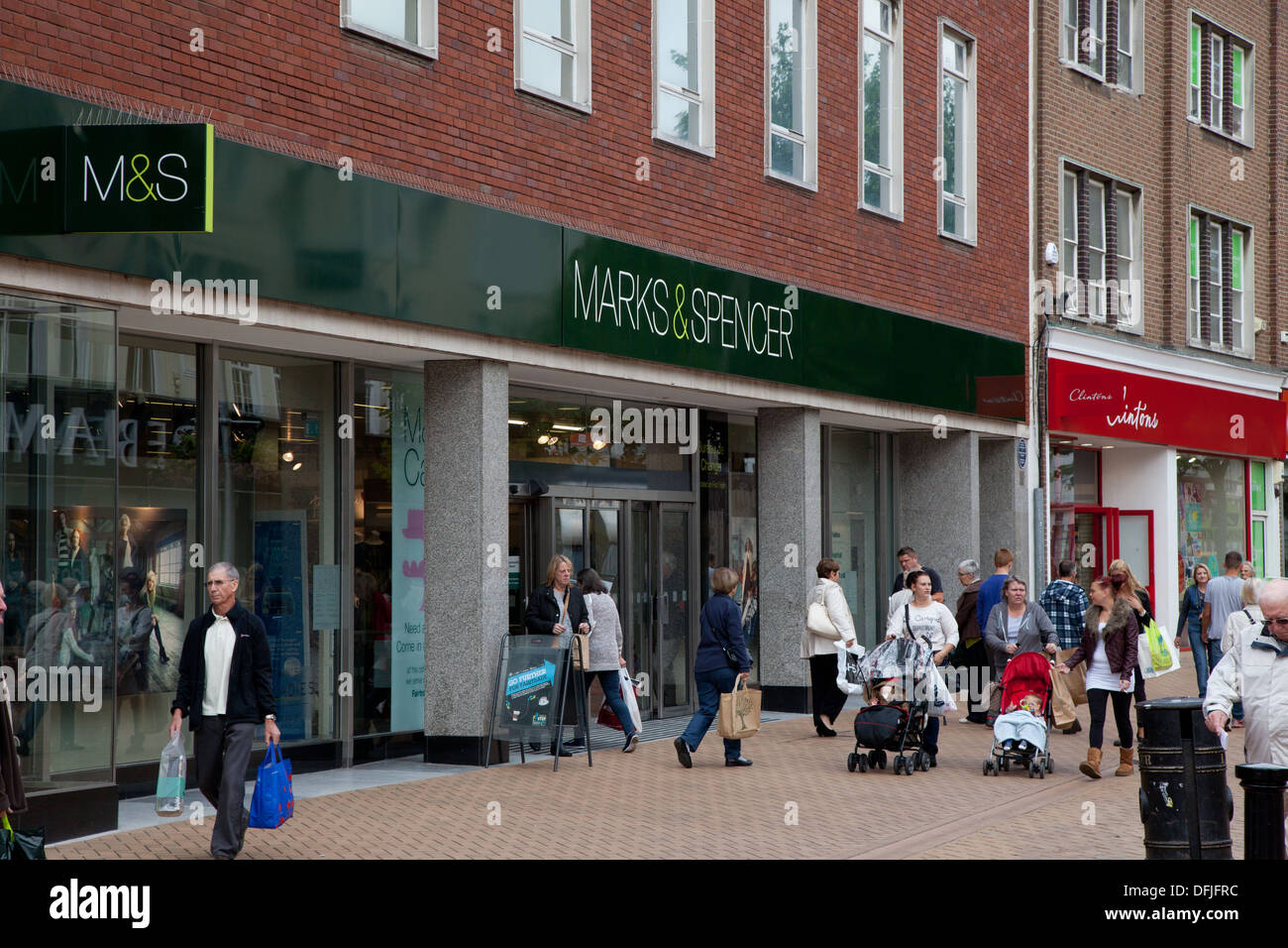Marks and Spencer in Chelmsford, Essex - Stock Image