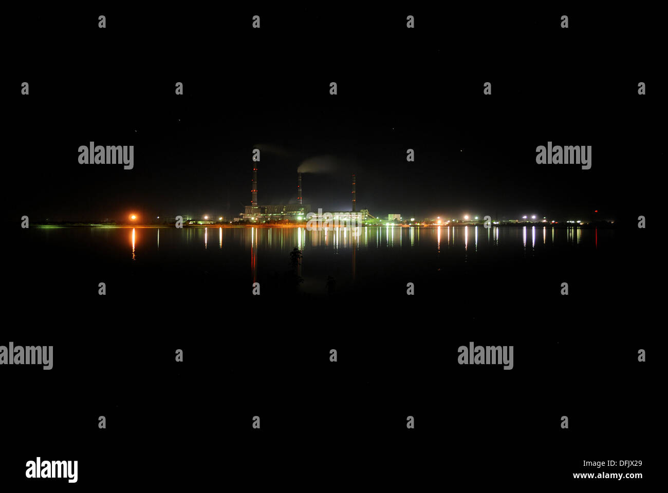 Thermal power station - Stock Image