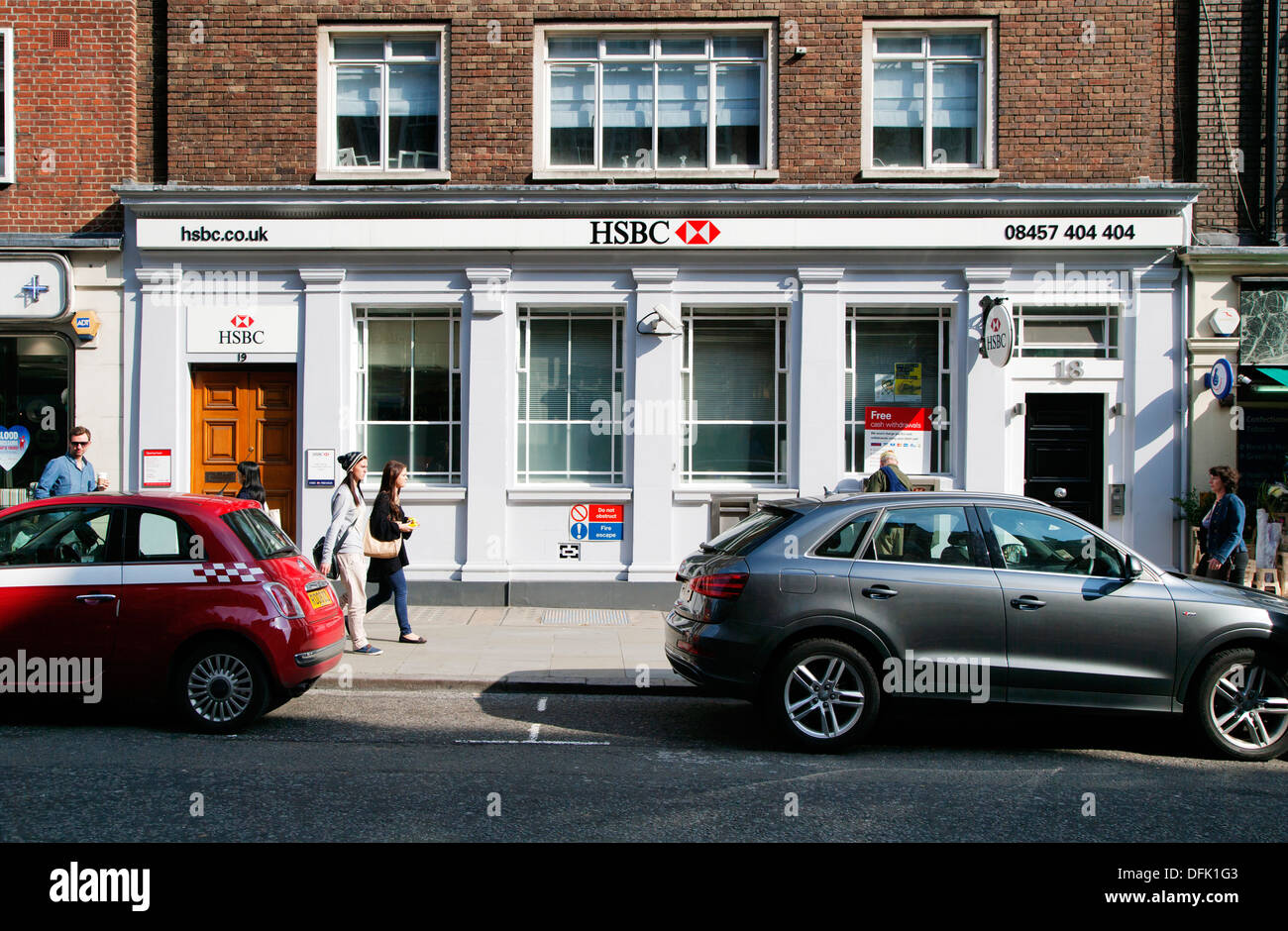 HSBC Bank, Marylebone High Street, London, England, UK