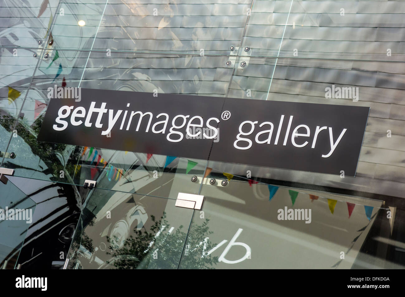 Getty Images Gallery Westfield Shopping Centre Stratford City - Stock Image