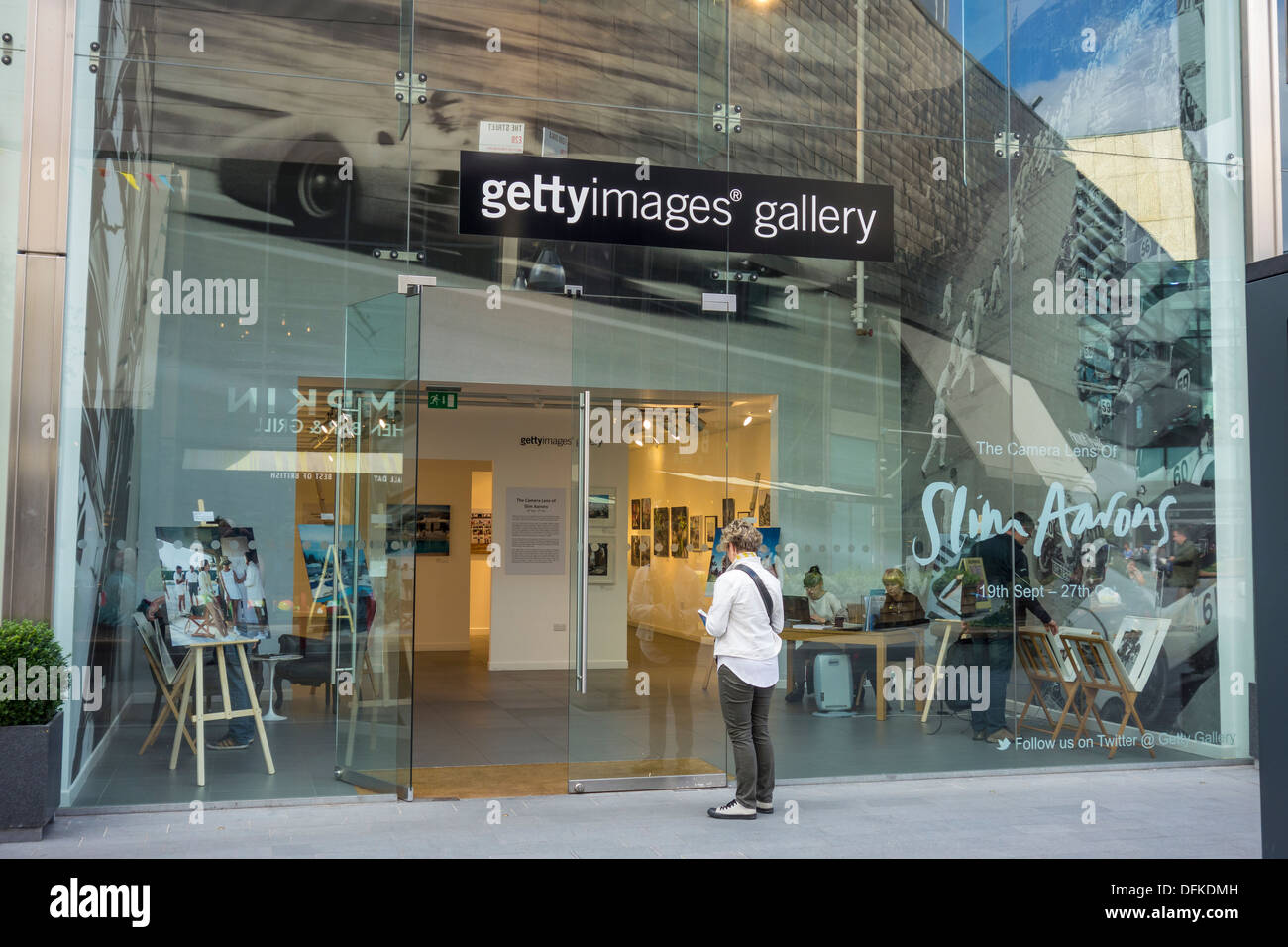 Getty Images Gallery Westfield Shopping Centre Stratford City Stock Photo