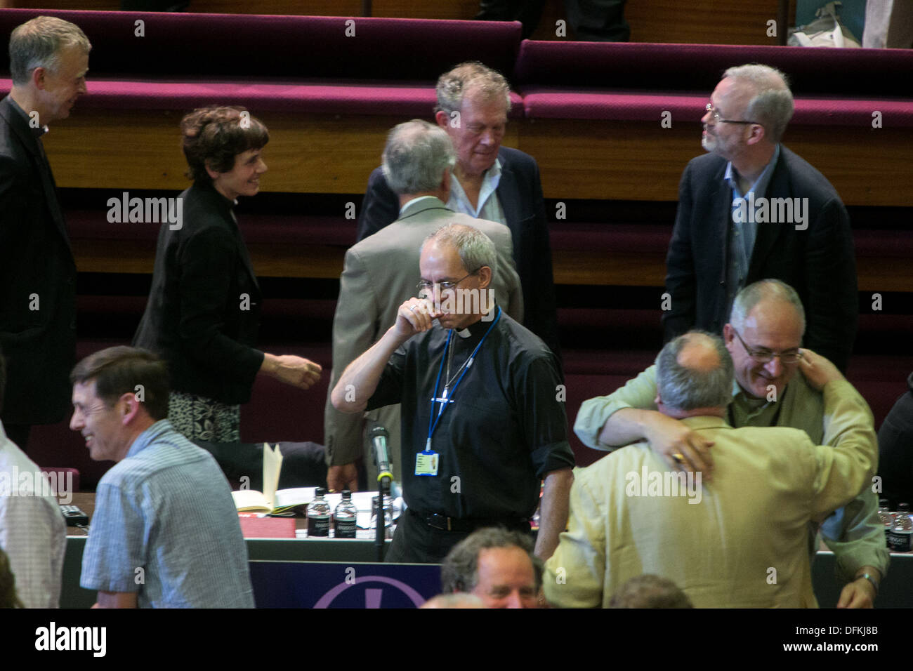 CHURCH OF ENGLAND GENERAL SYNOD UNI OF YORK Archbishop of Canterbury Justin Welby - Stock Image