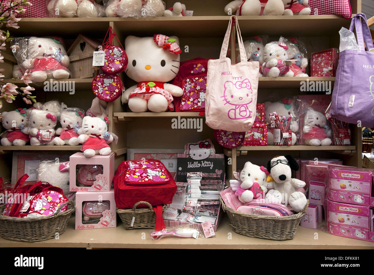 Trade Mark Kitty Merchandising Decorative Items For Sale On Interior