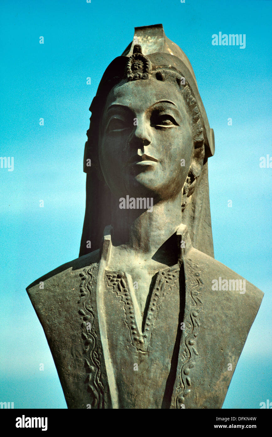Bust of Ayse Hafsa Sultan or Hafsa Hatun (1479-1534) Mother of Ottoman  Turkish Sultan Suleiman the Magnificent