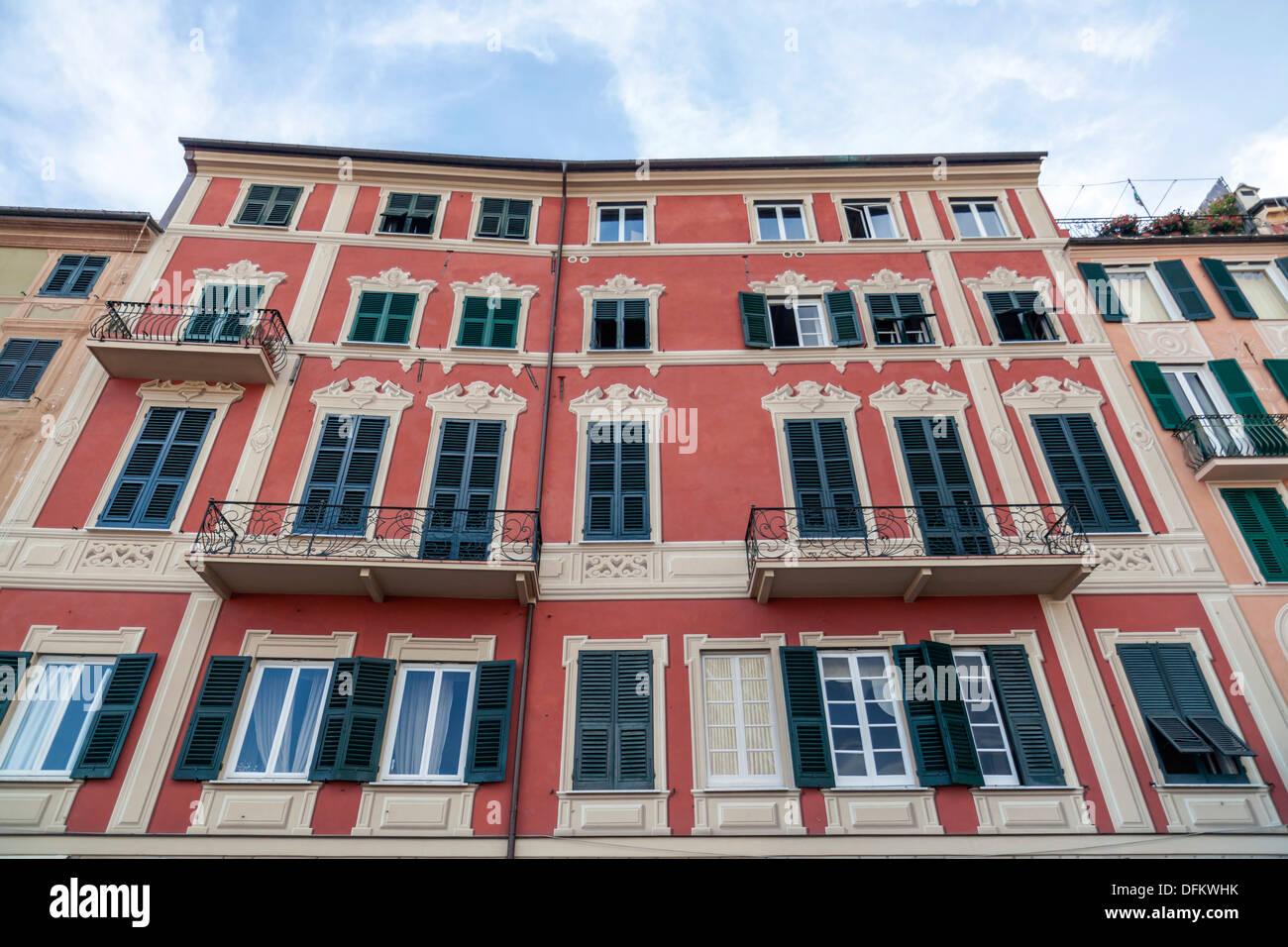 Santa Margherite Ligure,Province Genoa,Liguria,Italy Stock Photo