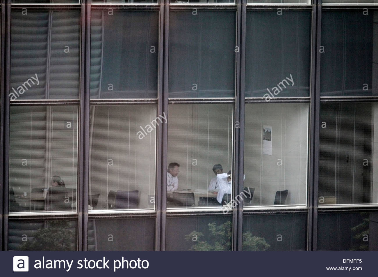 meeting of businesspeople - Stock Image