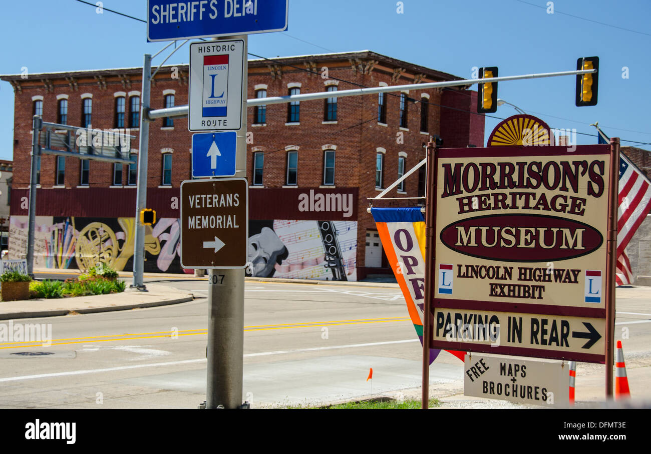 Morrison S Heritage Museum In Morrison Illinois A City Along The