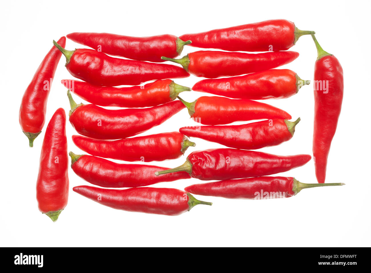Red Chilli peppers - Stock Image
