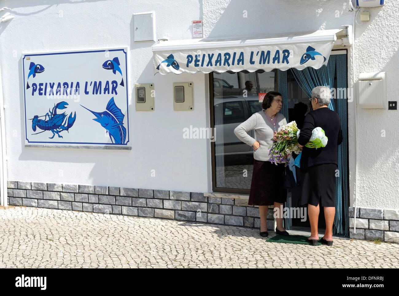 Europa,South Europa,Portugal, Estremadura, Peniche - Stock Image