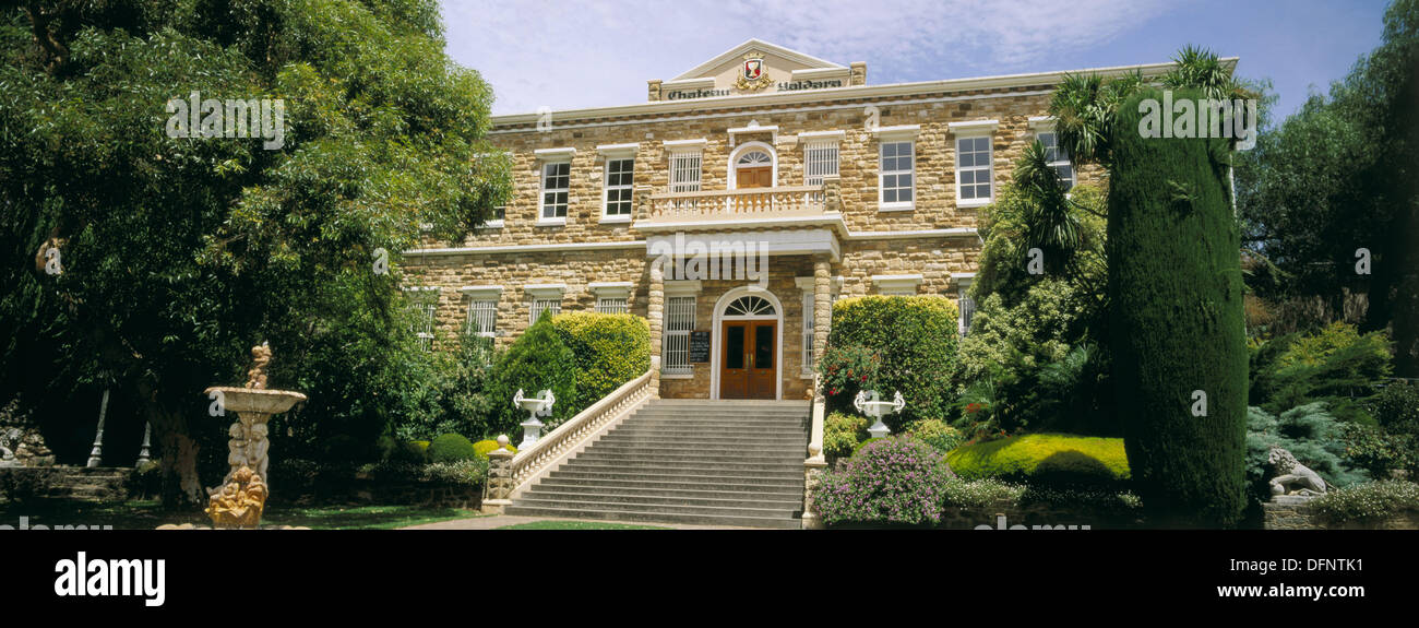 Chateau Yaldara winery in Barossa Valley. South Australia Stock Photo
