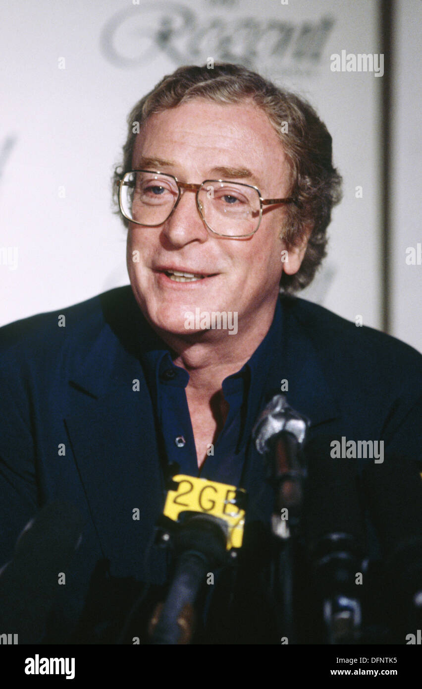 Michael Caine, British actor - Stock Image