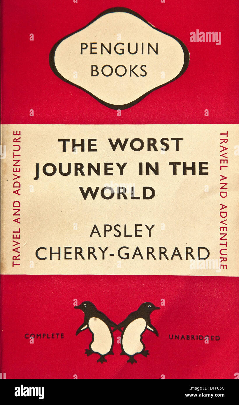 The Worst Journey In The World 1922 By Apsley Cherry Garrard Stock