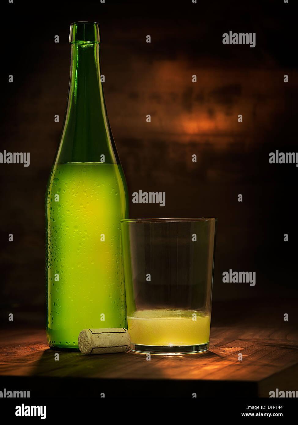 fresh cider - Stock Image