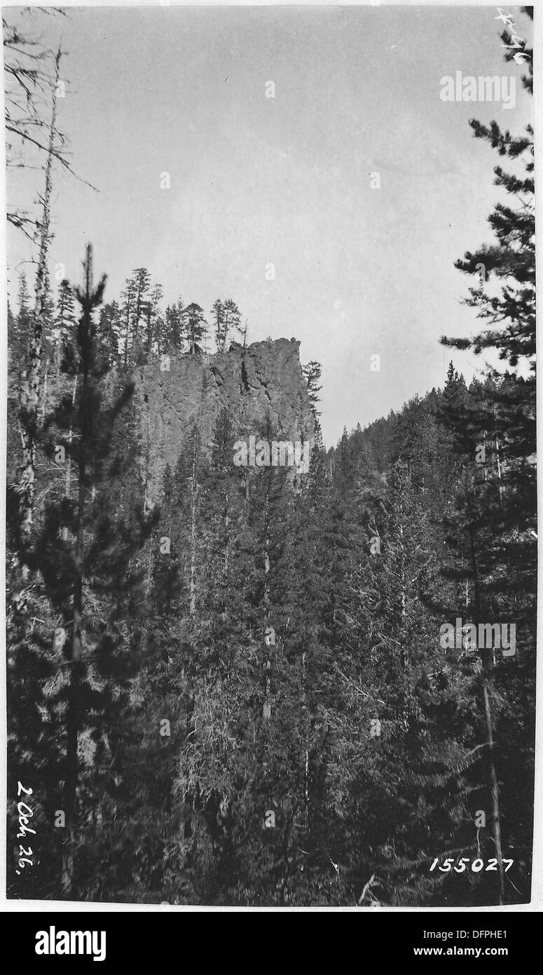 Red Bluff, Desolation Canyon, Ochoco Forest, 1913 299180 - Stock Image
