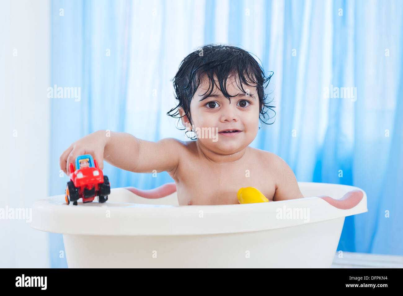 Asian Baby Boy Bathing Stock Photos & Asian Baby Boy Bathing Stock ...