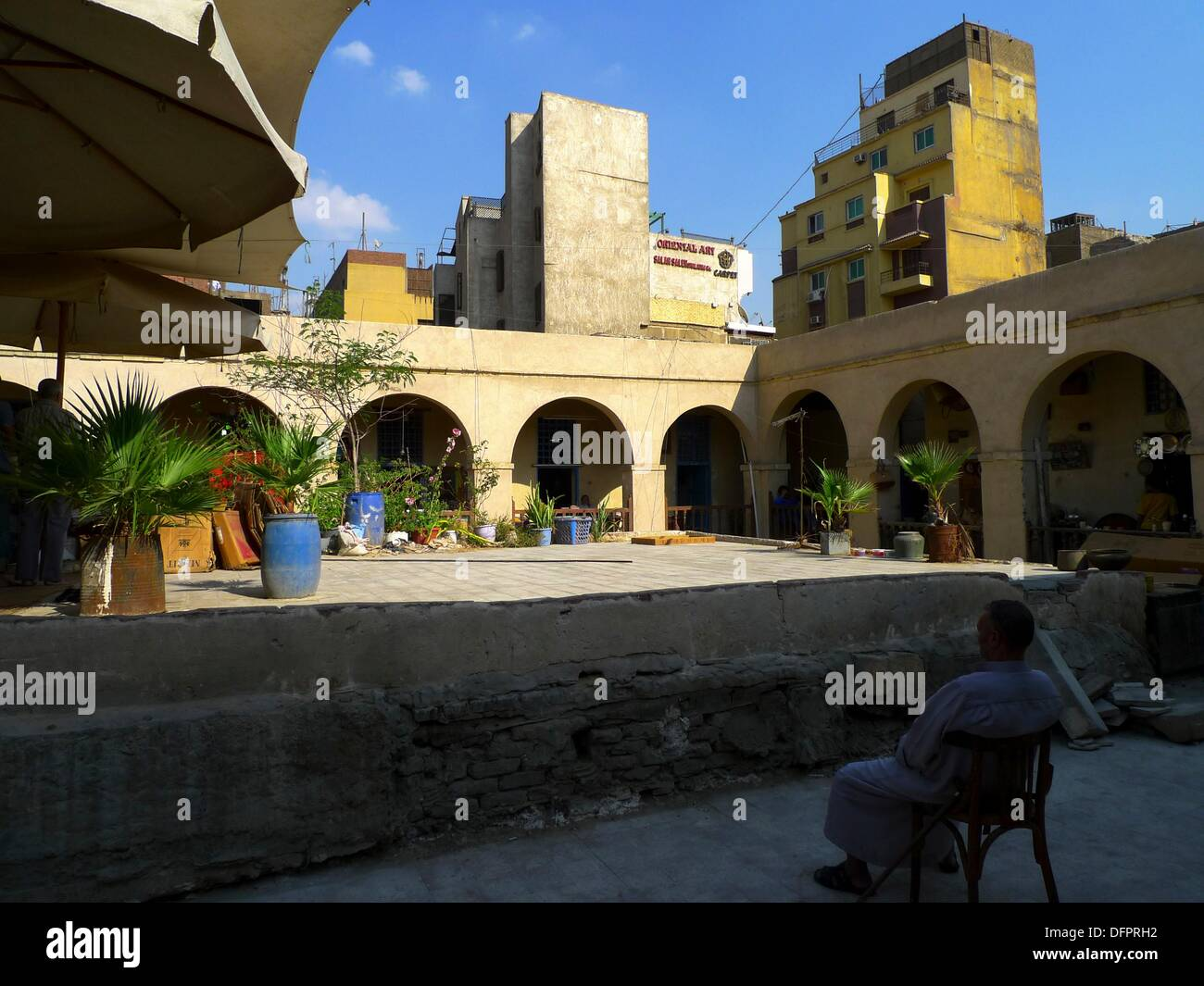 Bazars at Khan El Khalili , Islamic Quarter, Cairo, Egypt - Stock Image
