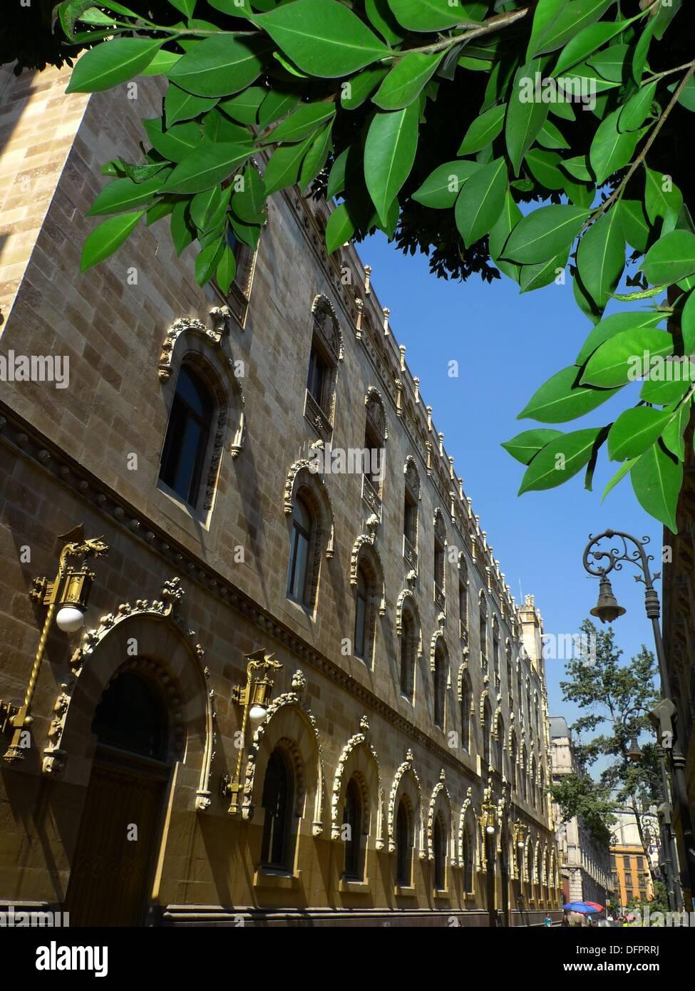 Correo Mayor (Postal palace), Mexico City, Mexico - Stock Image