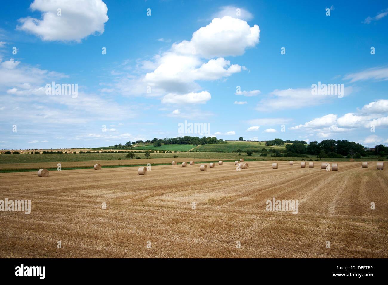 Pays de Langres, France. Langres landscape Stock Photo