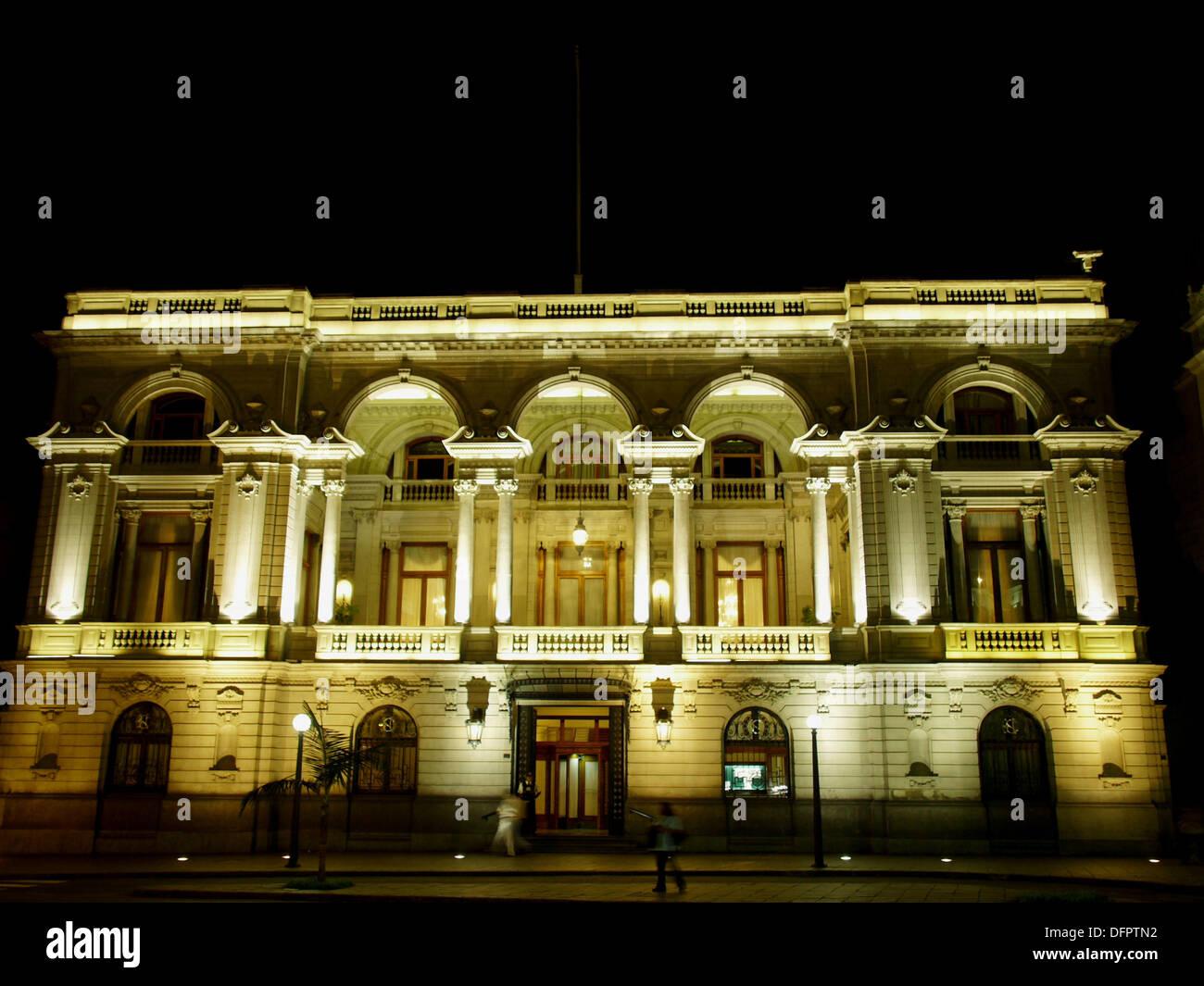 club nacional historic centre lima peru stock photo 61353294 alamy