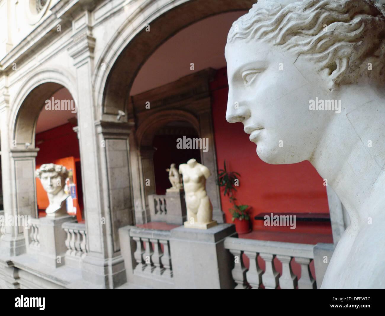 Academia de San Carlos. Ciudad de México. - Stock Image
