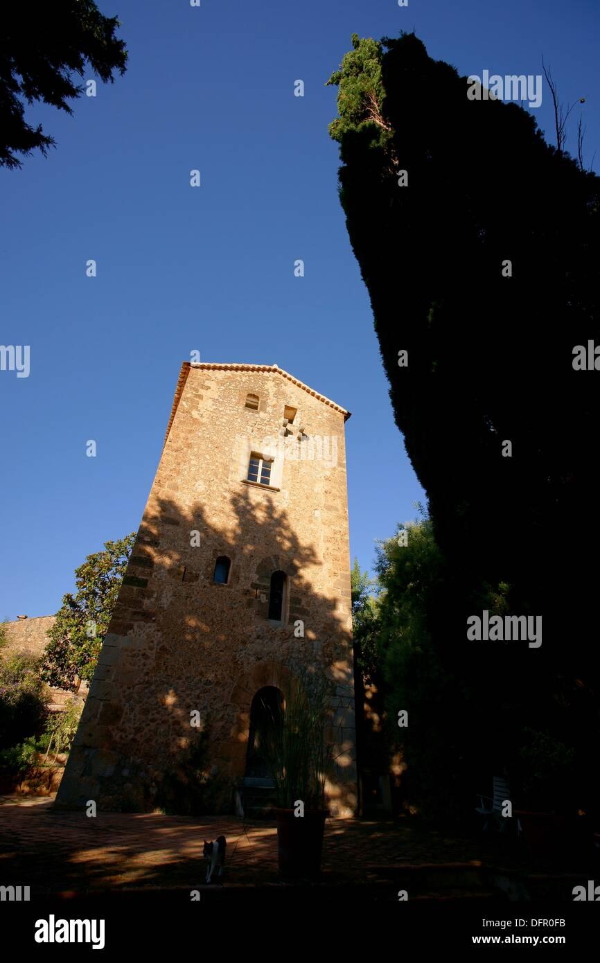 Ca l´Abat sixteenth century Spain Deia Mallorca Balearic islands - Stock Image