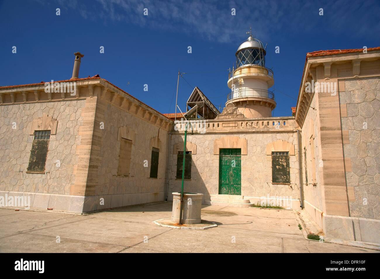 Far Llebeig Natural Park Dragonera Andratx Spain Mallorca Balearic Islands - Stock Image