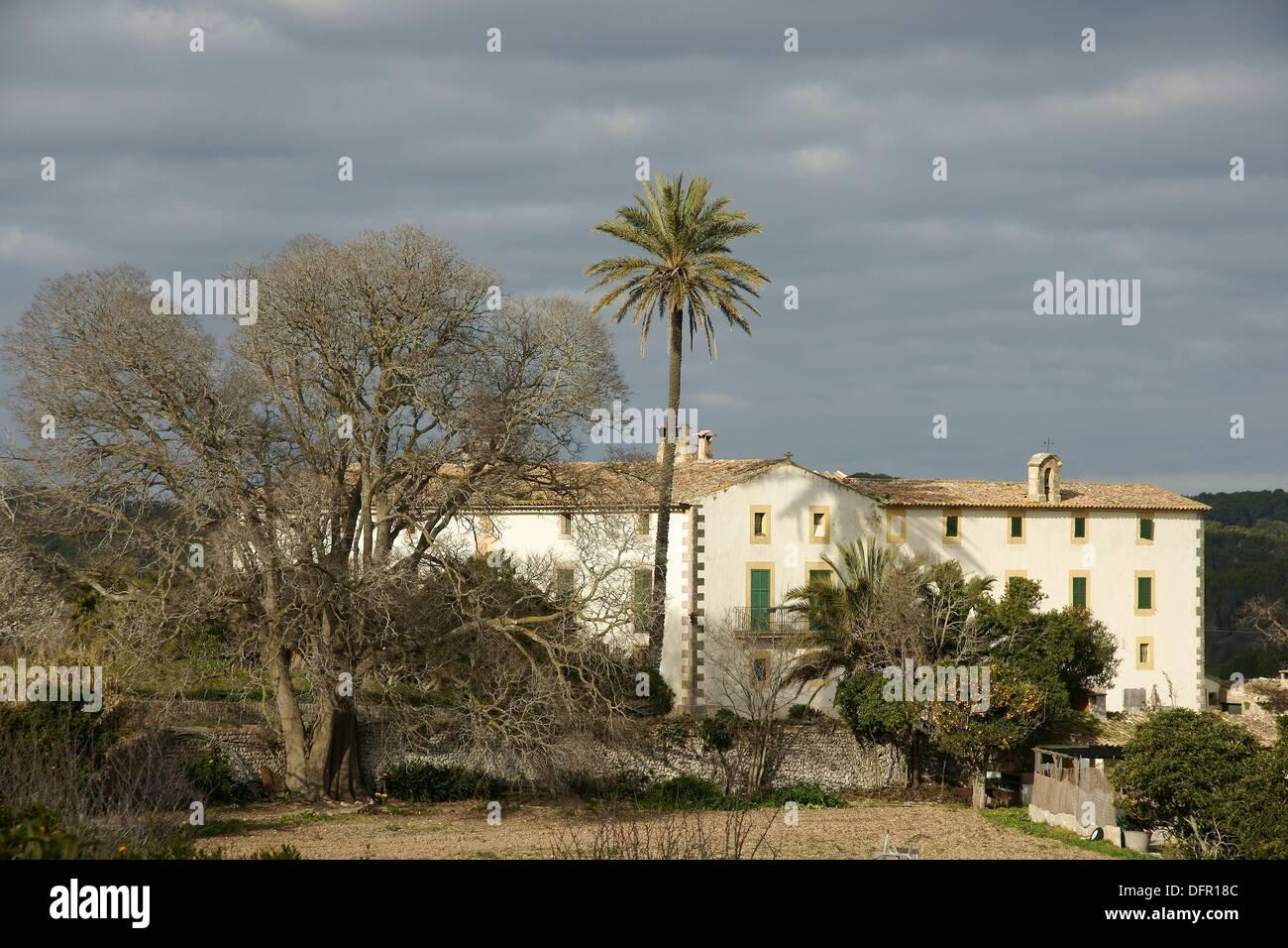 Albenya Randa nineteenth century Spain Balearic Islands Mallorca - Stock Image