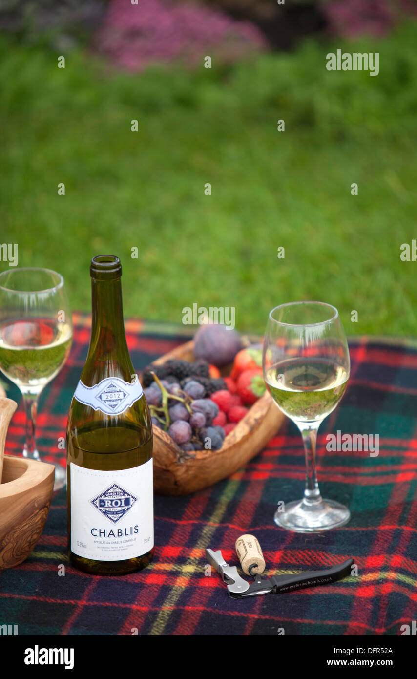 Chablis wine and grapes on a picnic blanket england uk stock photo jpg  854x1390 Wine blanket 98d35fd45